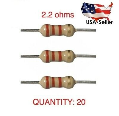 2.2r High Quality Airbag Resistors - Pack Of 20 Bulk Deal See Description