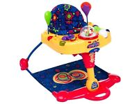 Fisher Price hop n pop jumperoo lights n sounds playzone very good condition