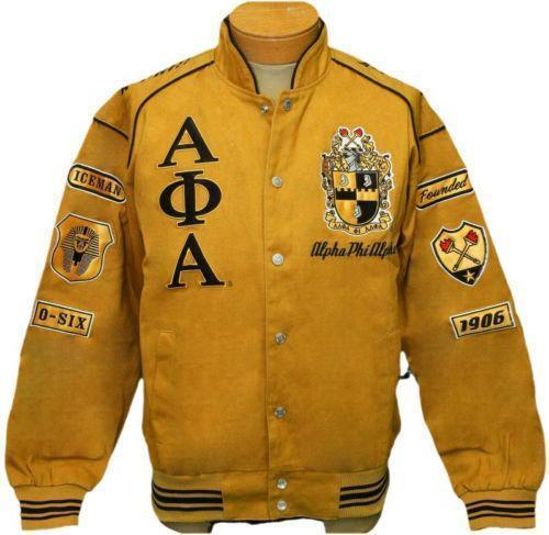 Alpha Phi Alpha Jacket Ebay