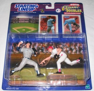 Starting Lineup Roger Clemens Curt Schilling Classic Doubles 2000#