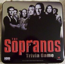 The Sopranos Trivia Game in Collectible Tin (Brand New)