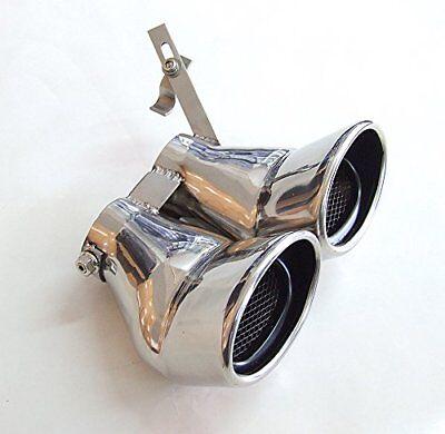 Endrohr Auspuff-Blende für Mercedes Benz W203 00-07 C-KLASSE C240 C320