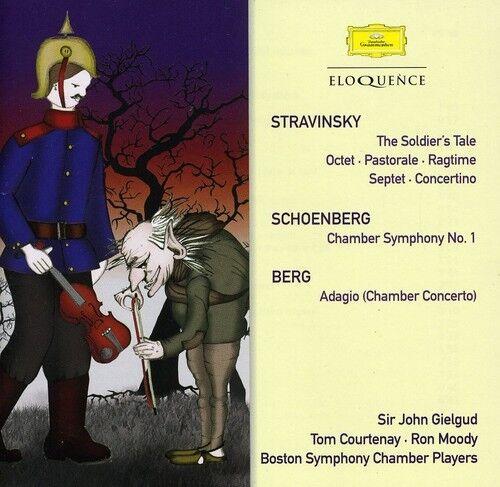 Boston Symphony Cham - Stravinsky: Soldiers Tale / Schoenberg: Chamber [New CD]