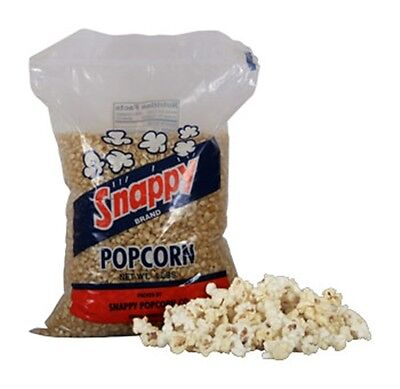 New Snappy White Kernel Popcorn 6 - 4 Lb. Bags Per Case