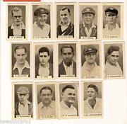 Cricket Cigarette Cards