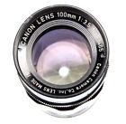 Canon f/3.5 Camera Lenses 100mm Focal