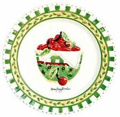 Mary Engelbreit Cherry Plates