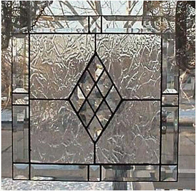 """Victorian Bevel Frame Kit 21"""" an easy Stained Glass project"""