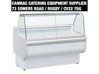 Rota 170 Meat Temperature- Slimline Curved Glass Serve Over Counter 1710Wx830Dmm