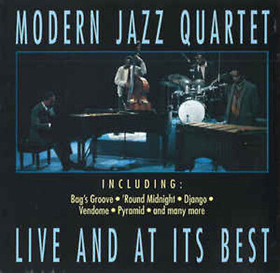 MODERN JAZZ QUARTET - Live And At Its Best - CD