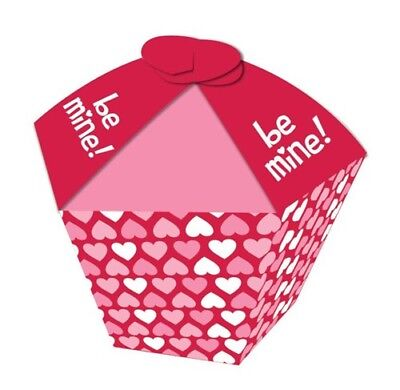Valentine Hearts Cupcake Favor box Party Supplies Valentines Day Decorations ()