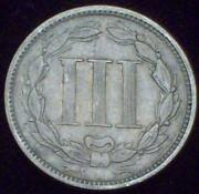 US 3 Cent Coin