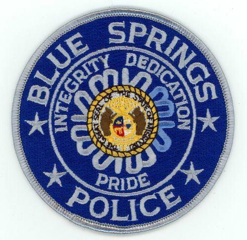 BLUE SPRINGS POLICE MISSOURI MO NEW PATCH SHERIFF