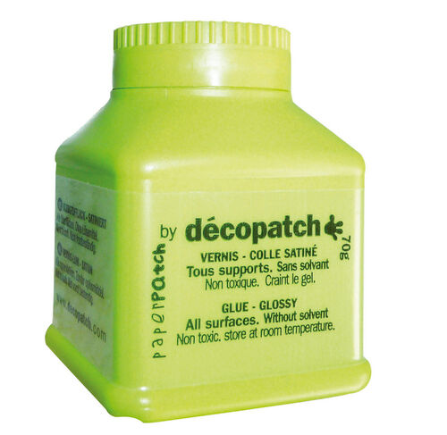 Decopatch Paperpatch Varnish Glue Glossy - 70g - White - FREE DELIVERY!