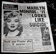 Marilyn Monroe Newspaper