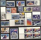Space US Stamp Collections and Lots