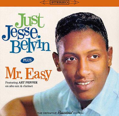 Jesse Belvin   Just Jesse Belvin   Mr  Easy  New Cd  Spain   Import