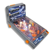 SEALED NEW Portable Table Top Pinball by Totes $174 Value!!!!