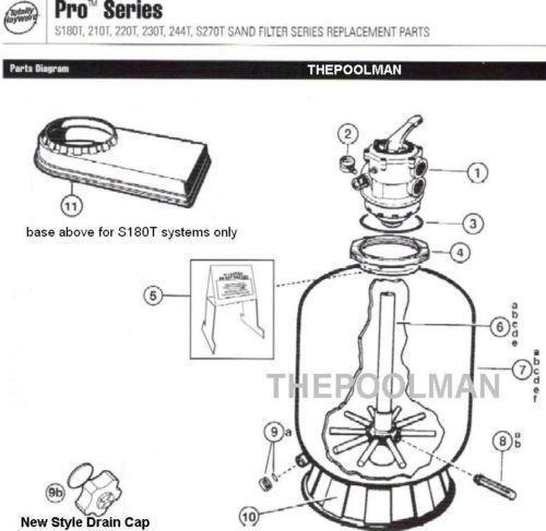 Hayward clamp pool parts maintenance ebay