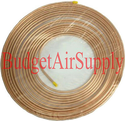 34 Od X 50ft Soft Copper Refrigeration Tubing -hvac Best Ebay Pancake Coil