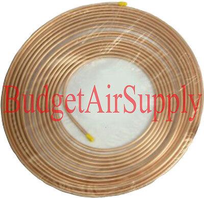 34 Od X 50ft Soft Copper Refrigeration Tubing -hvac Best Ebay Pancake Coil