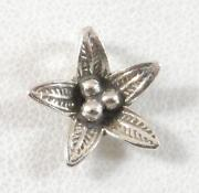 Sterling Silver Flower Pendant