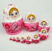 Pink Russian Dolls