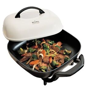 Rival S12P 12-Inch Electric Skillet  •Practically new 12X12 Ele