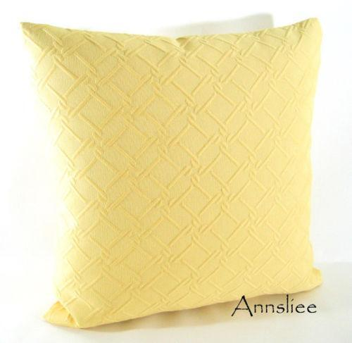 Solid Yellow Pillow Ebay