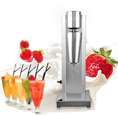 Stainless Steel Single Head Milk Shake Machine Electric Bubble Tea Mixer 220v Y