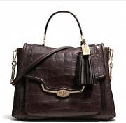 Coach Madison Embossed Croc