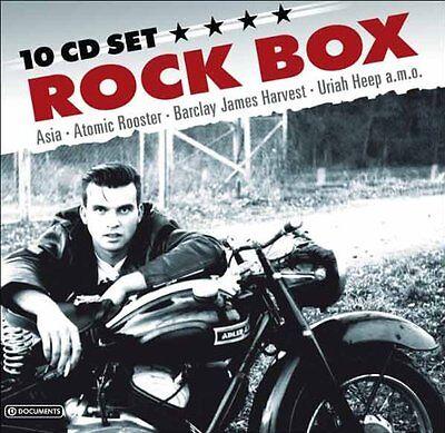 Rock Box (SEALED 10 CD) Asia Sham 69 Uriah Heep Ultravox Wishbone Ash Ian Gillan comprar usado  Enviando para Brazil