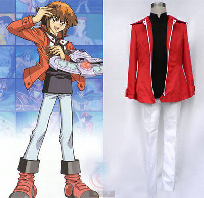 Yu-Gi-Oh! GX Jaden Yuki Judai Uniform Full Equipped Halloween Cosplay Costume