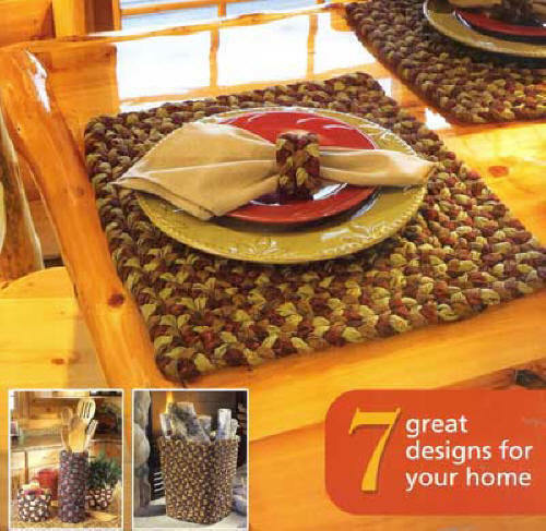 Rustic Cabin Braid Craft book: braid a rug, placemats, baskets, table runner +