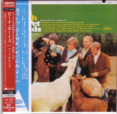 THE BEACH BOYS, PET SOUNDS, AUTH LTD CD ED, JAPAN 2014, PLATINUM SHM-CD (NEW)