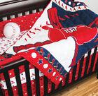 Boys' Nursery Crib Bumpers