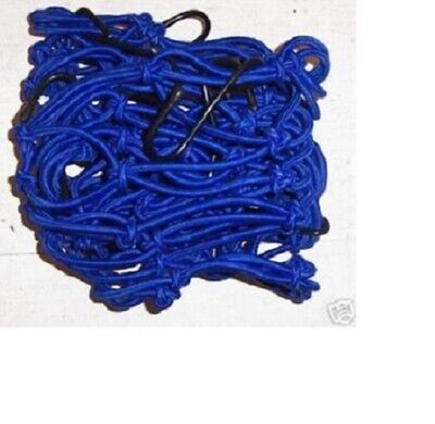 Motorcycle Cargo Net Blue 15 X 30 10 hook Emgo 78-560512 New