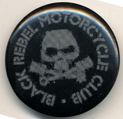 Black Rebel Motorcycle Club RARE promo button