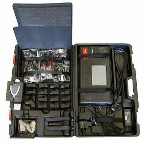 launch autobook x431 pro scanner with case and connectors