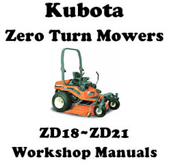 Kubota Zero Turn Mower Service Manual