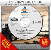 Land Rover Defender Manual