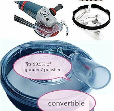 Dust Shroud Kit Dry Grinding 7 Inch Dust Cover For Angle Grinder Hand Grinder