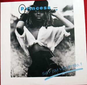 PRINCESS: SAY I'M YOUR NUMBER ONE -CD Single [Stock Aitken Waterman Box Set] PWL