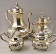 Vintage Sterling Silver Tea Set