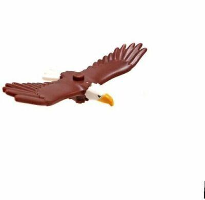 LEGO City Golden Eagle Bird Animal Train Town Scenery 60197 60198 minifigure
