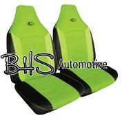 Neon Green Seat Covers