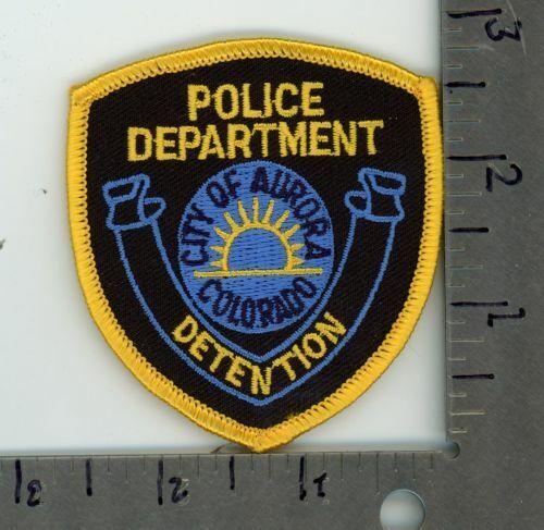 COLORADO CO AURORA POLICE DETENTION NEW PATCH SHERIFF CAP SIZE