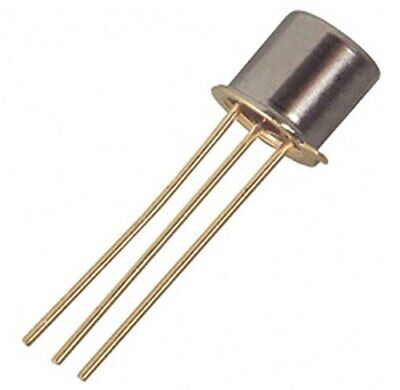 Motorola 2n5133 Audio Npn Transistor - Lot Of 3