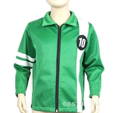 BEN 10 JACKET Aliens Force kids boys cosplay Benjamin irby Tennyson ten](Ben Ten Costume)