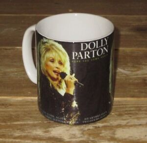Dolly Parton Here You Come Again Advert MUG